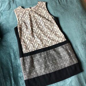 DKNYC sleeveless shift dress, Size 14